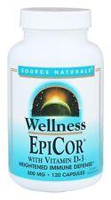 Source Naturals Wellness EpiCor Vitamin D3 500 mg 120 Capsules Immune Defense