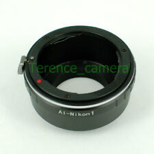 For Nikon AI F Mount Lens to Nikon 1 Camera Body Adapter Ring J3 J4 J5 V2 V3 V5