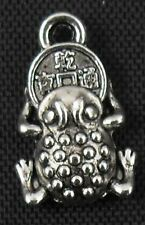 25Pcs Tibetan Silver ladybug Charms Pendant 11x17mm(Lead-free)