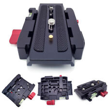 AC_ NE_ EG_ Pro Quick Release Clamp Slide Plate Adapter System for Camera Tripod