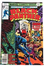 Black Panther  Vol. 1 (1977-1979)  #3  Marvel < NM- > Jack Kirby