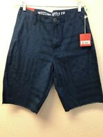 NWT Mossimo Supply Co Mens Flag Patriotic Shorts 30 Blue Stars Stripes Pockets