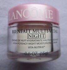 LANCOME  BIENFAIT Multi-Vital NIGHT High Potency MOISTURIZING  CREAM .5oz