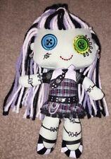 "2003 MATTEL 10"" Plush MONSTER HIGH Doll FRANKIE STEIN Frankenstein Plush Stuffed"