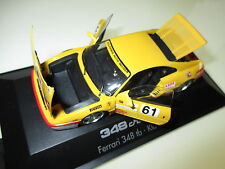 FERRARI 348 tb CHALLENGE RACING CAR AUTO da corsa tra #61, Herpa in 1:43 Boxed!