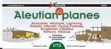 1/72 DK Decals NEW; Aleutian Planes Part Two P-38, P-39, P-40, B-25, B-26 + more