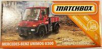 Matchbox 2019 Power Grabs MBX Construction 3/20 Benz Unimog U300 (BBGCH57)