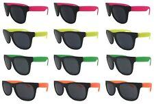 120pk Neon Child Sunglasses Party Wedding 80s Retro Style Eyewear 10 dozens LOT