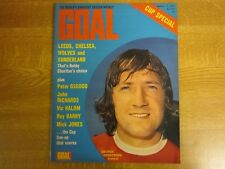 March 1973, GOAL, George Armstrong, Irving Nattrass, Bryan Robson, John McAlle.