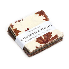 """MINI CHARM PACK~COUNTRY ROAD~MODA~42-2.5"""" SQUARES~HOLLY TAYLOR~NORTHWOODS~6660MC"""