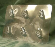 SEGMENT SWEET / CHOCOLATE / CANDY MOULD / MOLD - 6 impression FREE 1st CLASS P&P