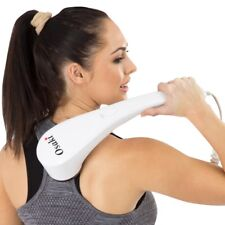 Hand Held Portable Back Neck Shoulder Body Massager Wand With Heat Osaki OS-109G