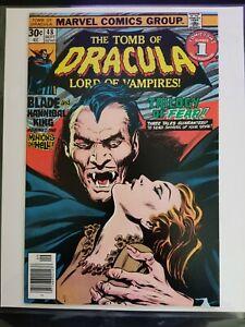 Tomb of Dracula 48 NM 9.4 💎 Blade Werewolf Spider-Man Marvel High Grade Key