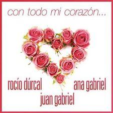 Juan Gabriel - Con Todo Mi Corazon [New CD]