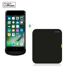 Zens Wireless Charging Case Wireless Charger Bundle Apple iPhone 7/6/6S schwarz