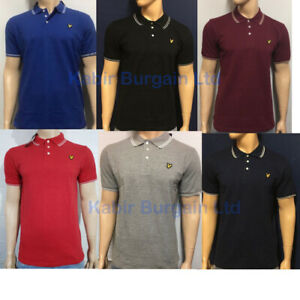 Lyle & Scott Polo Tipping Collar For Mens