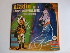 """ALADIN ou LA LAMPE MERVEILLEUSE / PIERRE TCHERNIA  7"""" EP  33T VOGUE ENF. 33.10"""