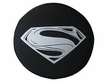 "SpareCover® Brawny Series -  Superman Man of Steel 35"" Tire Cover fits Hummer H2"