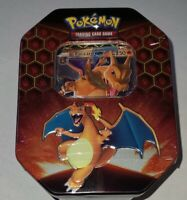 Pokemon TCG - Charizars Hidden Fates Tin - 4 Booster Packs - Factory Sealed