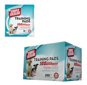 Simple Solution Puppy Training Pads (56 pack / 100 pack)