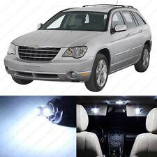 16 x White LED Interior Light Package For 2004 - 2008 Chrysler Pacifica + TOOL