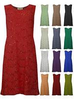 Womens Plus Size Lace Sequin Dress Peach Cream Black Mocha Ladies New UK 12-26