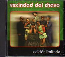 VECINDAD DEL CHAVO del 8 music CD rare ( Ocho Chespirito Chapulin Colorado