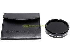 49mm. Filtro infrarosso 850nm Blackdove-cameras. * NUOVO * Con custodia.