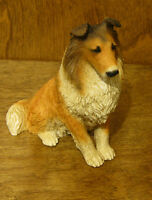 Castagna Dog Figurines #003 COLLIE, NEW/Box From Retail Store MADE IN ITALY 4.5""