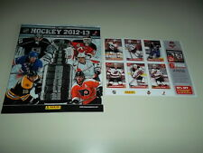 2012-13 Panini NHL Hockey Sticker Album 16 Stickers Included
