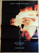 THE MOTHMAN PROPHECIES original vintage 1 sheet teaser movie poster 2002