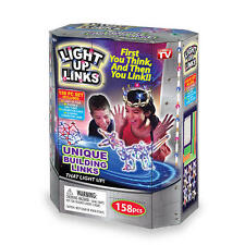 As Seen on TV Light Up Links 158 Piece Set Unique Building Light Up Links