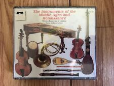 The Instruments of the Middle Ages and Renaissance (CD, Sep-1997, 2 Discs,...