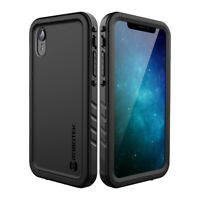 Robotek Summit Full Body Armor Case with Built-in Screen Protector For iPhone XR
