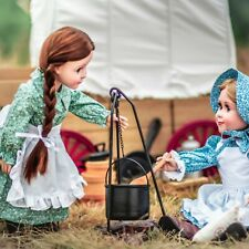 """LITTLE HOUSE CAMP COOKING PLAY SET Fits 18"""" American Girl Doll Accessories"""