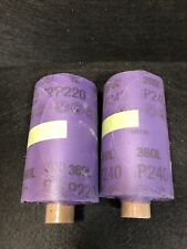 2125 Sheets 3m Stikit Film Disc Roll 360l5 Diap220 P240 Stick It Sand Paper