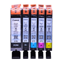 571 Genuine Original Canon Ink Cartridges Multipack Pixma MG5753, MG6850, MG6851