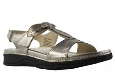 fc782812d0a092 Barefoot Freedom Womens Silver Slingback Sandals Size 10 New