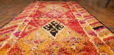 """Late 1930's Antique Henna Dye Wool Pile Nagorno-Karabahk Runner 2'9""""×10'5"""""""