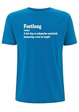 Footlong Meaning T Shirt Mens Top Foot Long Sandwich Subway Hotdog Baguette