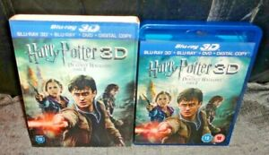 Harry Potter And The Deathly Hallows Part 2 (3D & 2D Blu Ray and DVD, 4-Discs)
