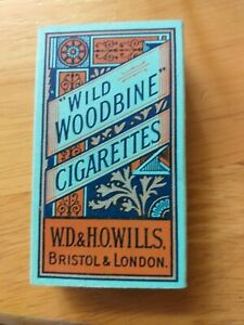 WILD WOODBINE CIGARETTE PACKET WITH SLEEVE.