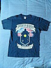 WWF American Badass Undertaker made in Lafayette T Shirt Large