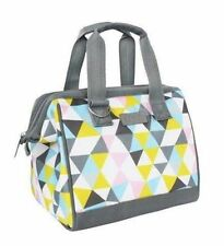 Sachi Insulated Style 34 Lunch Bag - Triangle Mosiac