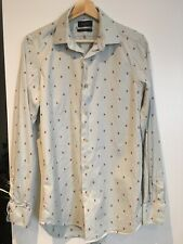Authentic Paul smith Soho Shirt Strawberry Light Blue Shirt