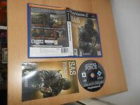 SAS ANTI-TERROR FORCE PlayStation 2 PS2 pal