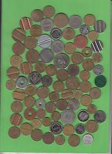 Marken Schrott Junk Tokens Dubletten Reste ca. 80 Stück (13.021) stampsdealer