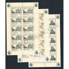 VA1080 - 1996 - Vaticano Ordinazione Sua Santità Paolo II Minifogli MNH/**