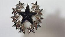 Western Horseshoe Star Belt Buckle