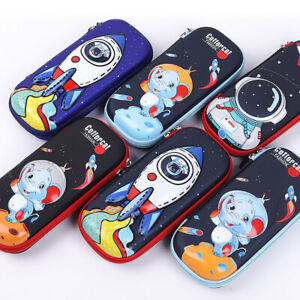 3D Pencil Case Schoolchild Stationery Pen Pouch School Supplies zipper Kids Gift